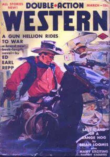 Double-Action Western - 3/1959