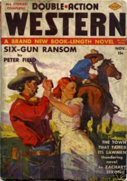 Double-Action Western - 11/1938