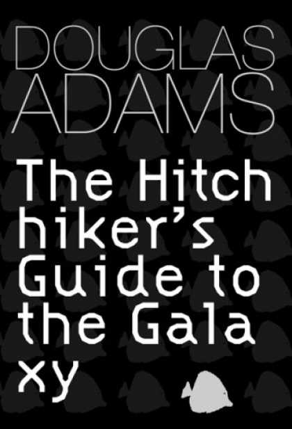 Douglas Adams Books - Hitch Hiker's Guide to the Galaxy (GollanczF.)