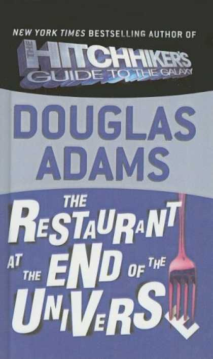 Douglas Adams Books - The Restaurant at the End of the Universe (Hitchhiker's Trilogy)