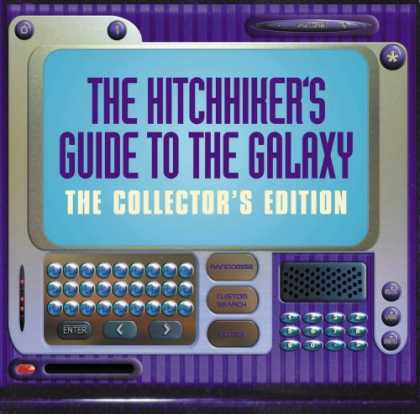 Douglas Adams Books - The Hitch Hiker's Guide to the Galaxy (Radio Collection)