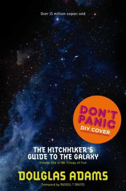 Douglas Adams Books - The Hitchhiker's Guide to the Galaxy (Hitchhikers Guide 1)