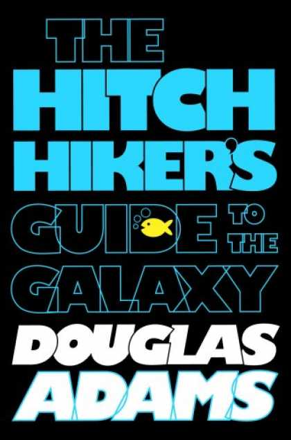 Douglas Adams Books - The Hitchhiker's Guide to the Galaxy