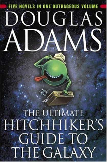 Douglas Adams Books - The Ultimate Hitchhiker's Guide to the Galaxy