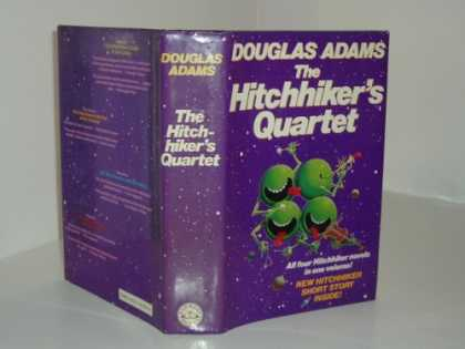 Douglas Adams Books - THE HITCHHIKERS QUARTET By DOUGLAS ADAMS 1986 FIRST