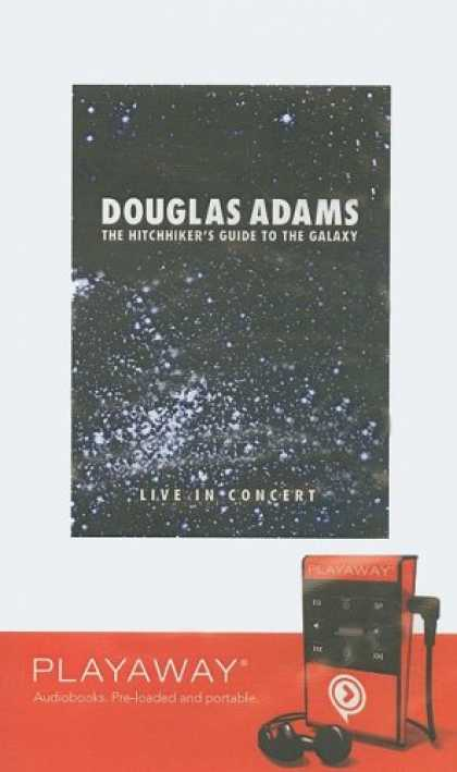 Douglas Adams Books - The Hitchhiker's Guide to the Galaxy: Douglas Adams Live in Concert: Library Edi