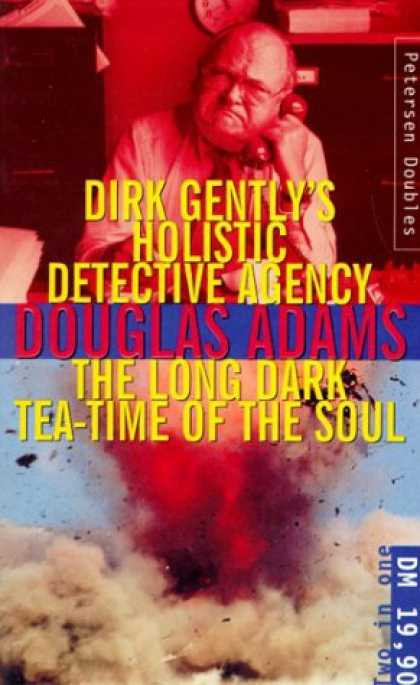 Douglas Adams Books - Dirk Gentley's Holistic Detective Agency / The Long Dark Tea Time of the Soul.