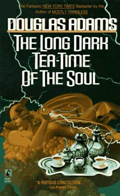 Douglas Adams Books - The Long Dark Tea-Time of the Soul