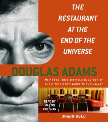 Douglas Adams Books - The Restaurant at the End of the Universe