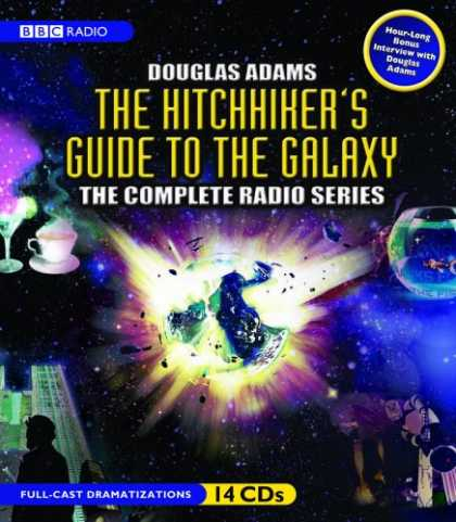 Douglas Adams Books - The Hitchhiker's Guide to the Galaxy: The Complete BBC Radio Series