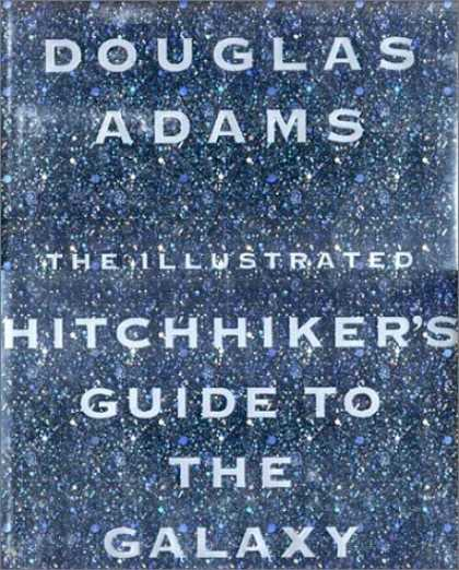Douglas Adams Books - The Illustrated Hitchhiker's Guide to the Galaxy
