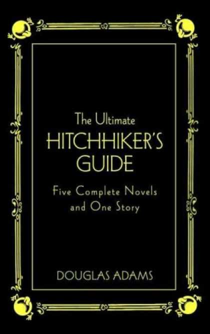 Douglas Adams Books - The Ultimate Hitchhiker's Guide Deluxe Edition