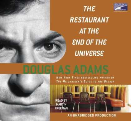 Douglas Adams Books - Restaurant at the End of the Universe