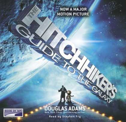 Douglas Adams Books - Hitchhiker's Guide to the Galaxy