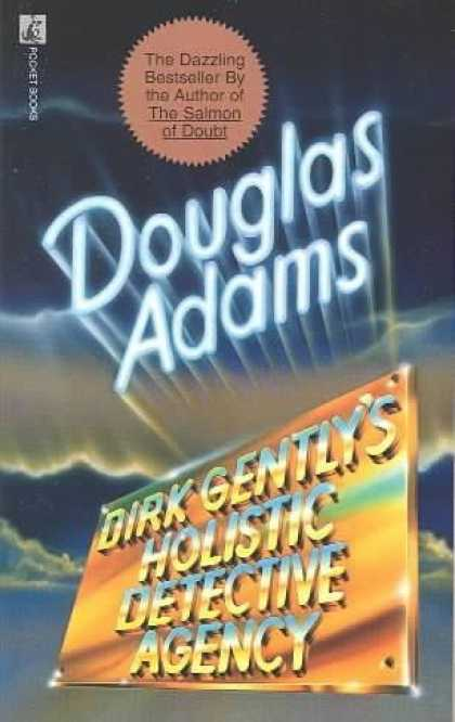 Douglas Adams Books - Dirk Gently's Holistic Detective Agency