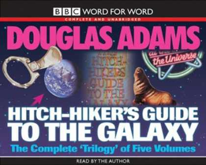 "Douglas Adams Books - The Hitch Hiker's Guide to the Galaxy: WITH ""The Restaurant at the End of the Un"