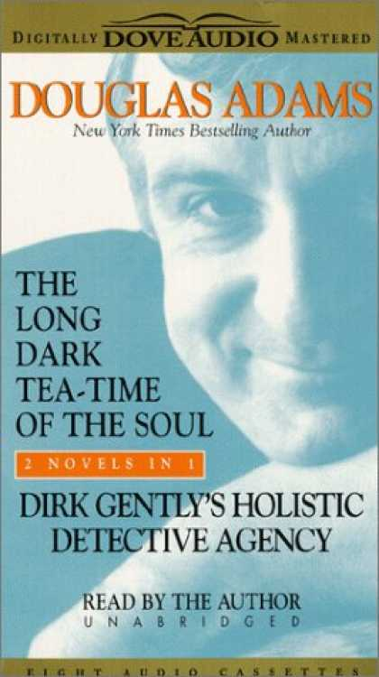 Douglas Adams Books - The Long Dark Tea-Time of the Soul & Dirk Gently's Holistic Detective Agency: Di