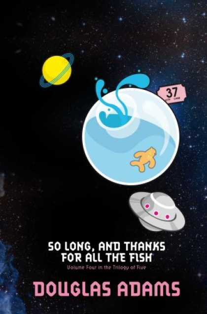 Douglas Adams Books - So Long, and Thanks for All the Fish (Hitchhikers Guide 4)