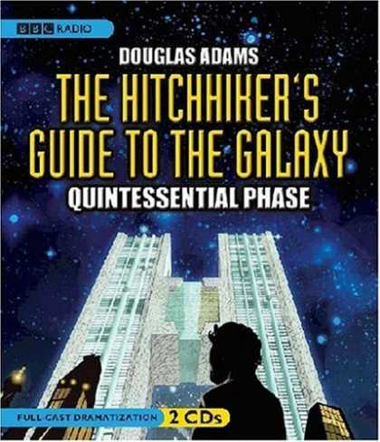 Douglas Adams Books - Hitchhiker's Guide to the Galaxy: Quintessential Phase (dramatization)