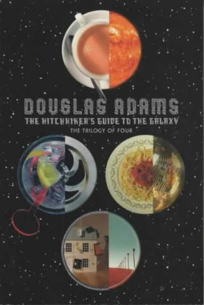 Douglas Adams Books - The Hitch Hiker's Guide to the Galaxy: A Trilogy in Four Parts