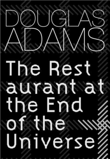 Douglas Adams Books - The Restaurant at the End of the Universe (GollanczF.)