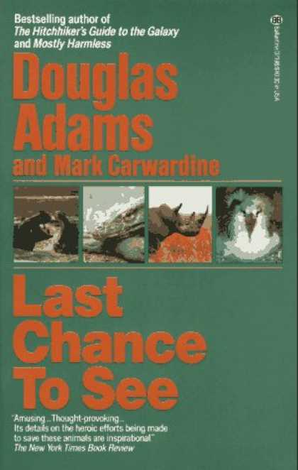 Douglas Adams Books - Last Chance to See
