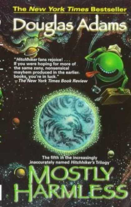 Douglas Adams Books - Mostly Harmless