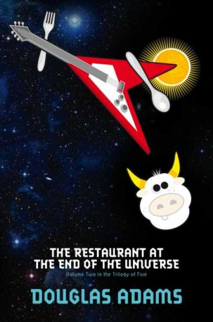 Douglas Adams Books - The Restaurant at the End of the Universe (Hitchhikers Guide 2)