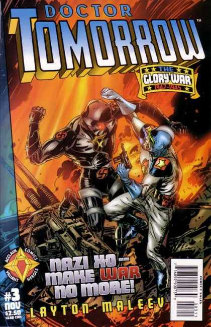 Dr. Tomorrow 3 - The Glory War - 1942-1945 - Layton - Maleev - Direct Sales