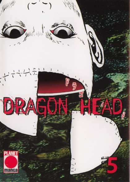 Dragon Head 9 - Planet Manga - Space - Galaxies - Eyes - Ear