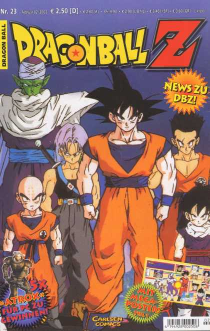Dragonball Z 10 - Goku - Trunks - Piccolo - Krillin - Atrox