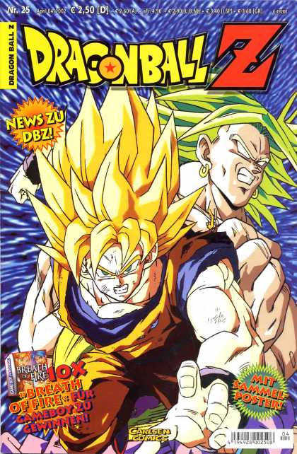 Dragonball Z 12 - Mit Sammel Poster - News Zu Dbz - Breath Of Fire - Hair - Flash