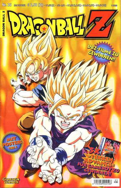 Dragonball Z 13 - Battle - Hair - Carlsen Comics - Flame - Fire