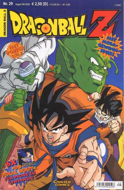 Dragonball Z 16 - Mega - German - With Poster - Green - Carlsen Comics