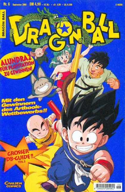 Dragonball Z 2 - Nr6 - September - 2006 - Carslen Comics - Dm 490