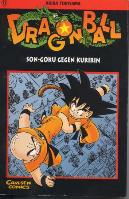 Dragonball 14 - Letters - Lines - Goten - Dragon - Road
