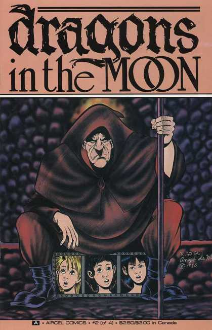 Dragons in the Moon 2 - Staff - Hooded - Angel - Canada - Comics