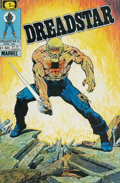 Dreadstar 10 - Jim Starlin