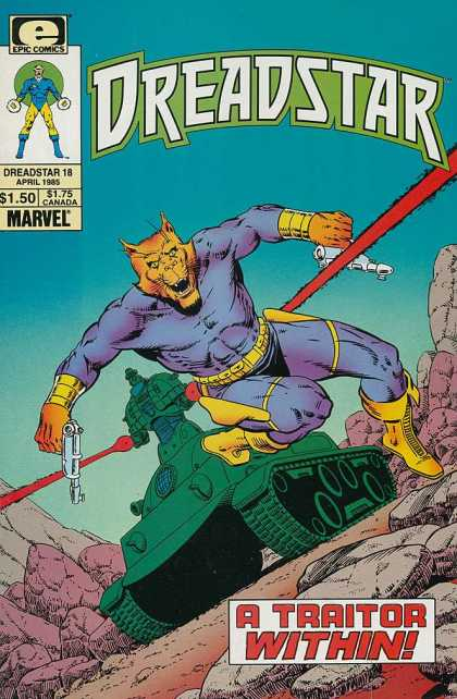 Dreadstar 18 - Jim Starlin