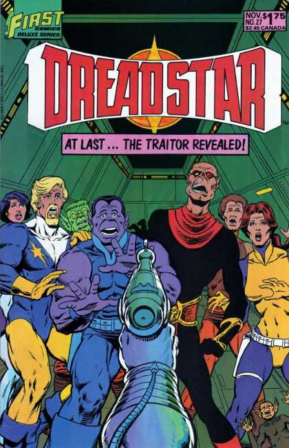 Dreadstar 27 - First - At Last The Traitor Revealed - Got Shocked - All Are Gathered - Ladies - Jim Starlin