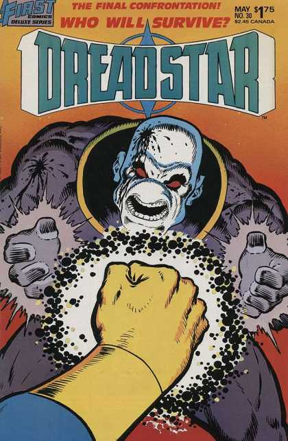 Dreadstar 30 - First - The Final Confrontation - Canada - Fist - Mutant - Jim Starlin