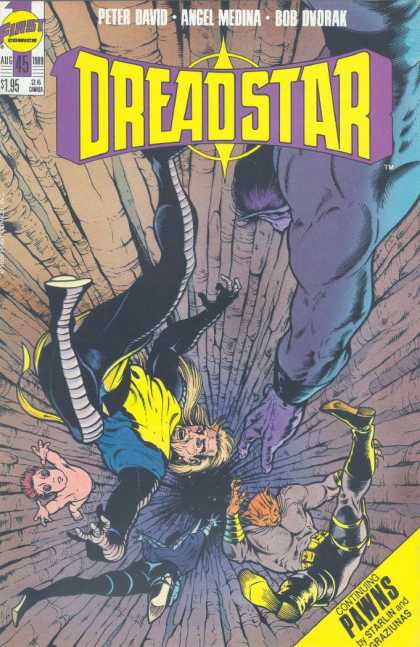 Dreadstar 45 - Peter David - Angel Medina - Bob Dvdrak - Pawns - First - Angel Medina