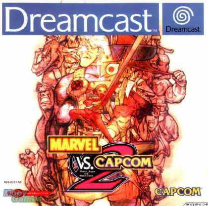 Dreamcast Games - Marvel vs Capcom 2: New Age of Heroes