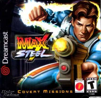 Dreamcast Games - Max Steel