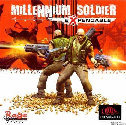 Dreamcast Games - Millennium Soldier: Expendable