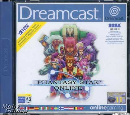 Dreamcast Games - Phantasy Star Online