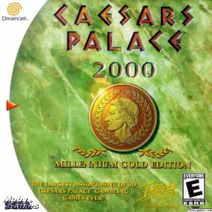 Dreamcast Games - Caesars Palace 2000