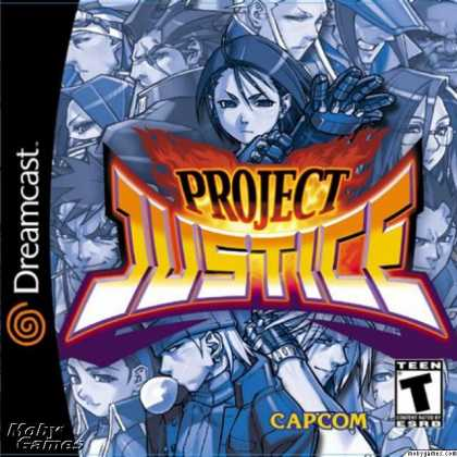 Dreamcast Games - Project Justice