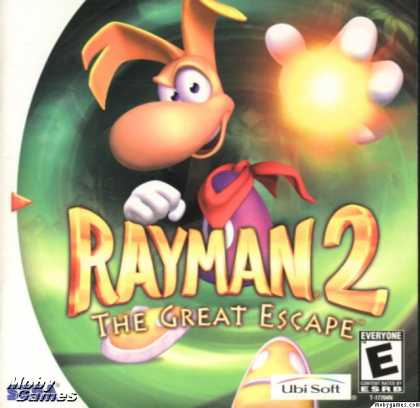 Dreamcast Games - Rayman 2: The Great Escape