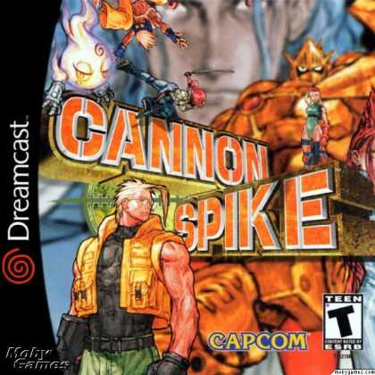 Dreamcast Games - Cannon Spike